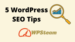 5 WordPress SEO Tips