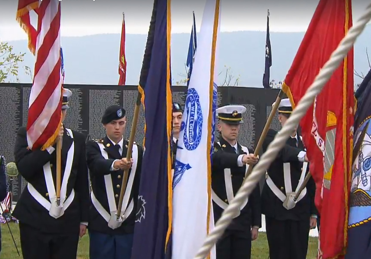 The Vietnam War Traveling Tribute Wall Opening Ceremony