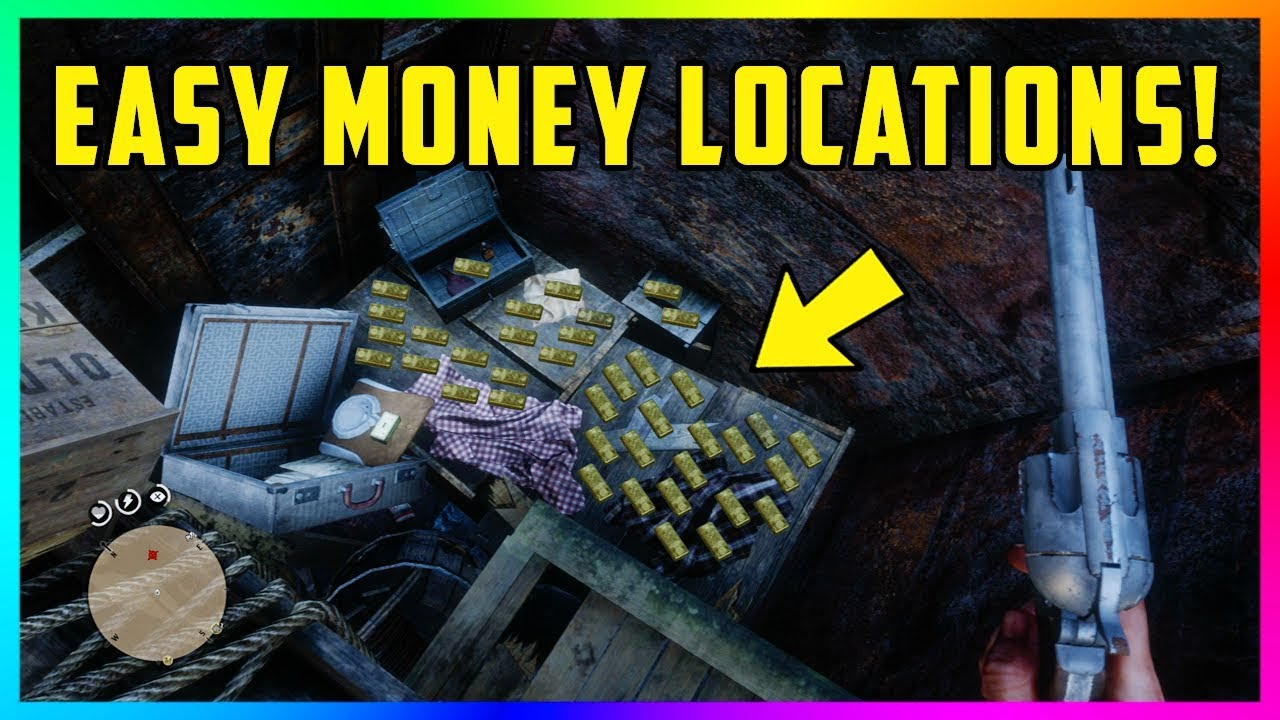 10 Easy Money Locations With Tons Of Gold Bars Rare Loot