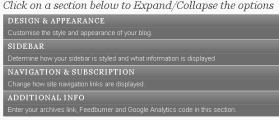 configurepersonalbloggingoptions