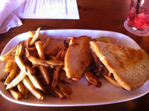 Sandwich From Grand Rapids Brewery