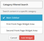 WordPress 3.8 Widget Management