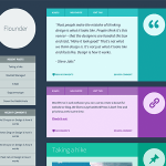 Flounder WordPress theme