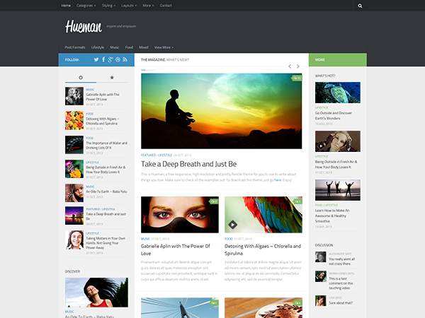 22 Beautiful Free WordPress Themes From 2013 – WordPress Tavern