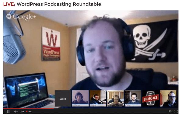 Podcasting Roundtable - photo credit: David Bisset