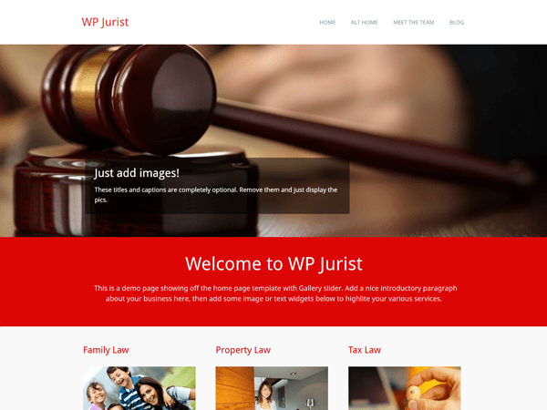 WP Jurist WordPress Theme