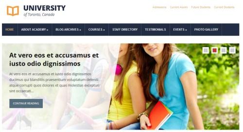 Academia Themes University Theme
