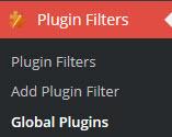 Plugin Organizer Plugin Filters