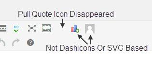 TinyMCE 4.0 Icons
