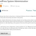WPMentor Job Posting