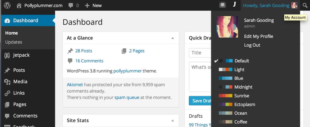 10 Free Plugins to Customize WordPress Admin Color Schemes