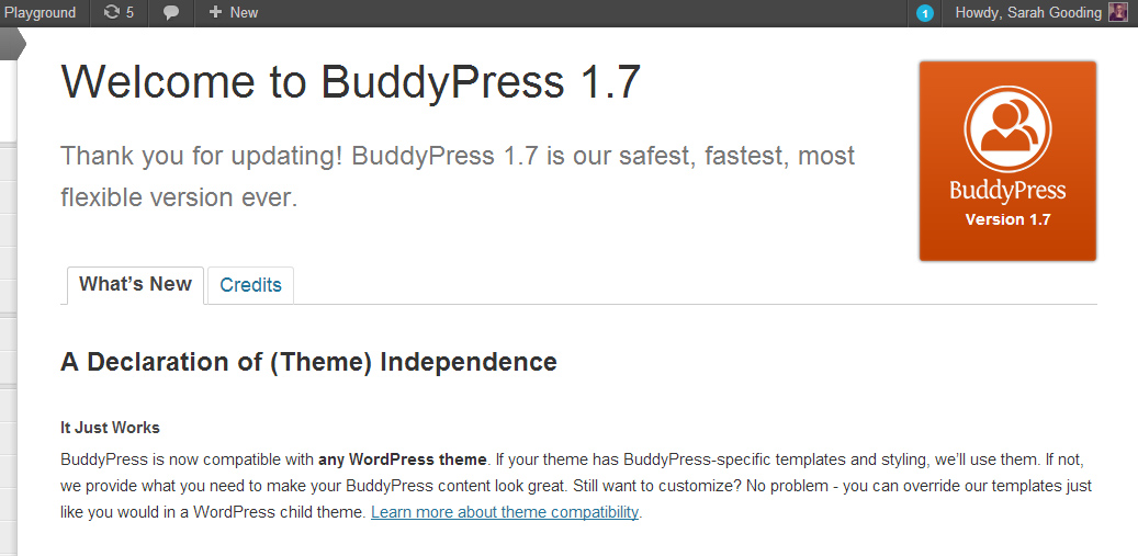 Why WordPress Theme Authors Still Need to Specify BuddyPress