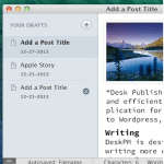 WordPress For iOS Keyboard