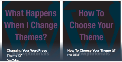 A Sample Of The Free Videos Available