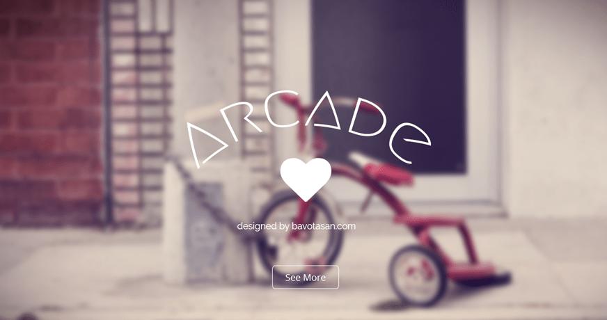 Arcade Basic: A Beautiful Free WordPress Theme Based on Bootstrap