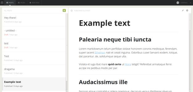 Gust Plugin Brings the Ghost Admin Panel Into WordPress