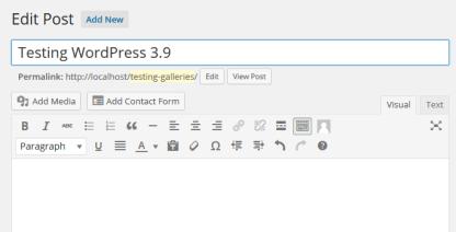 TinyMCE 4.0 In WordPress 3.9