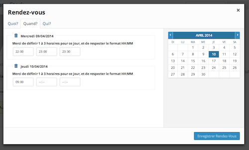 Rendez Vous Plugin Allows BuddyPress Community Members to