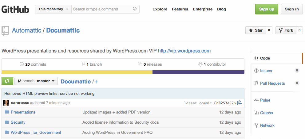 WordPress.com VIP Releases Presentation Documents and Resources Under Creative Commons License