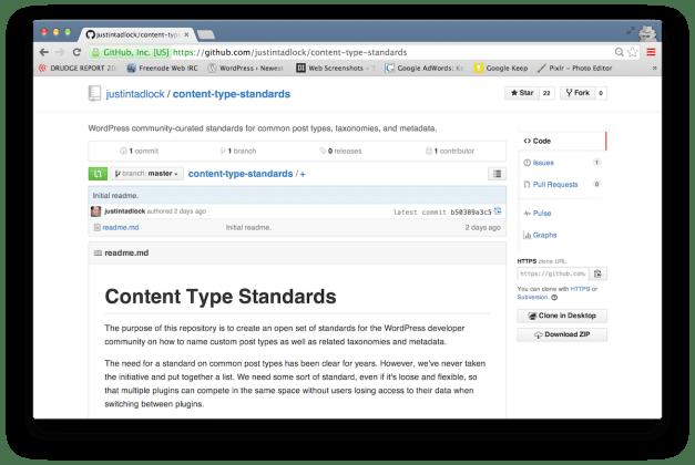 contnet-type-standards