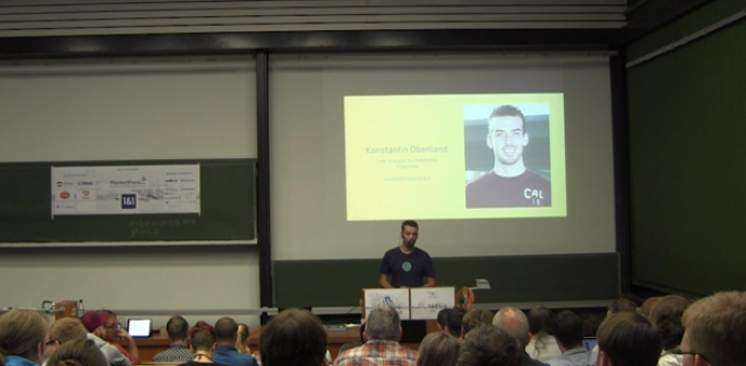 WordPress.tv Adds Its First German Presentation: Konstantin Obenland on Underscores