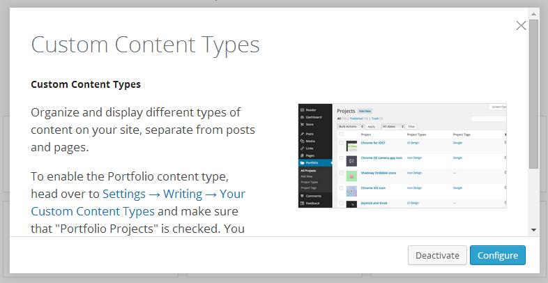 portfolio-content-type