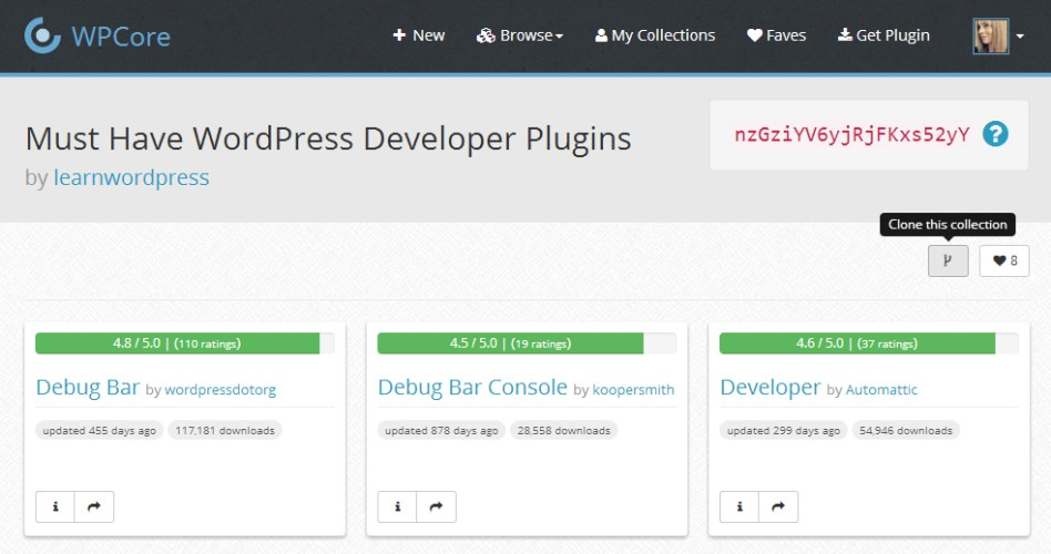 WPCore App Adds Export Feature: Save Active Plugins to a Collection with 1-Click
