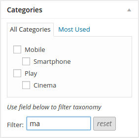 category-filtering