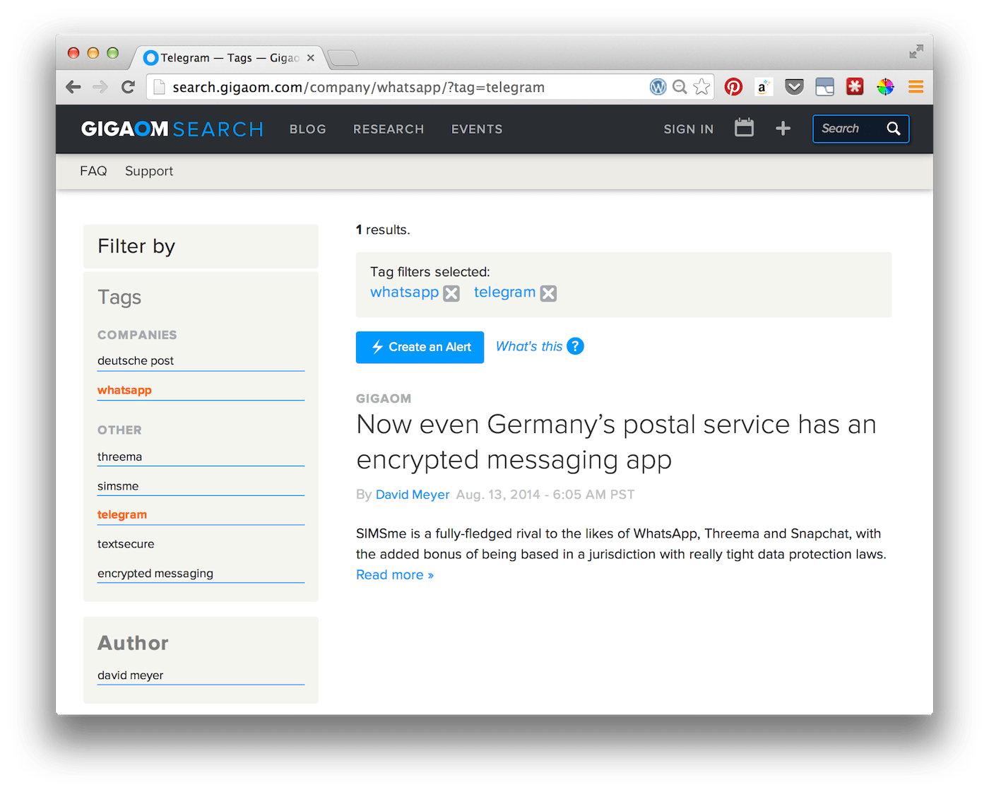 Gigaom's Blazing Fast WordPress Search is Enhanced by Sphinx and