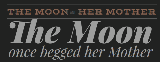 Google Font Typography Project