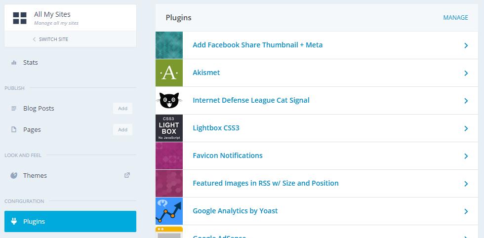 WordPress Jetpack multiple sites
