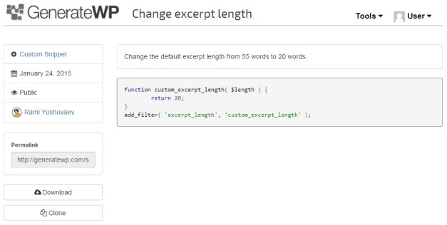generatewp-snippets