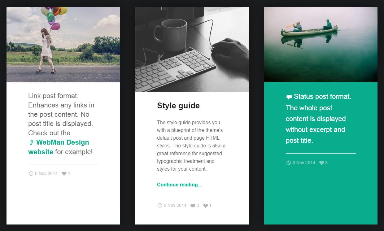 Modern: A Beautiful Free Blog and Portfolio Theme for WordPress