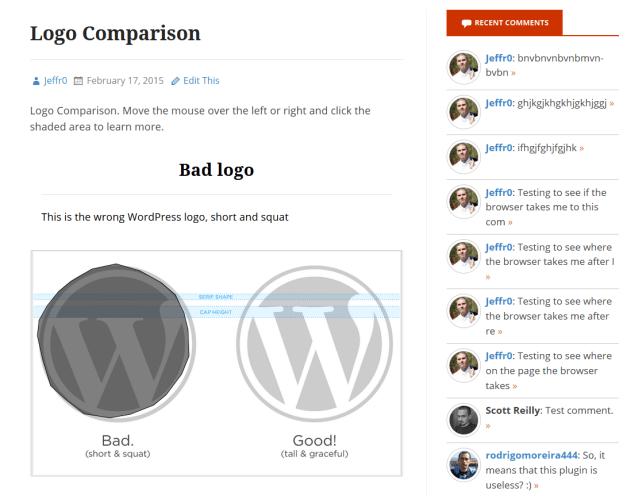Draw Attention Hot Spots WordPress Frontend