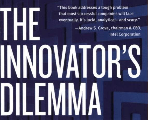 Book Cover to Innovators Dilemma