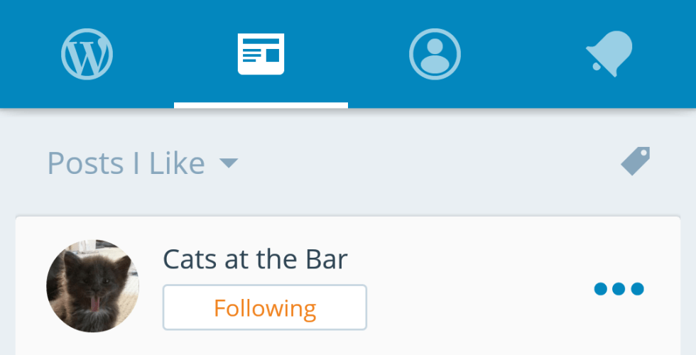 WordPress for Android Version 4.1 Says Goodbye to the Hamburger Button