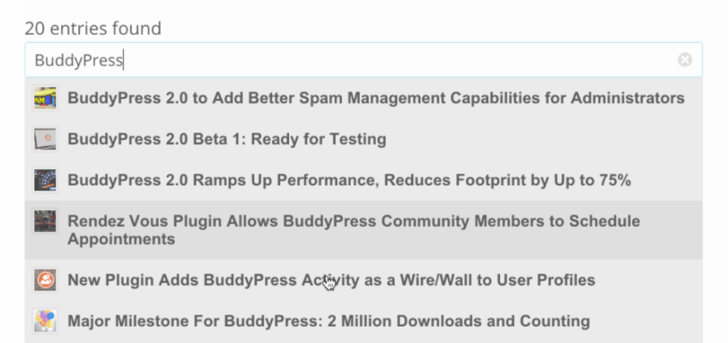 New WP Live Search Plugin Utilizes the WP REST API