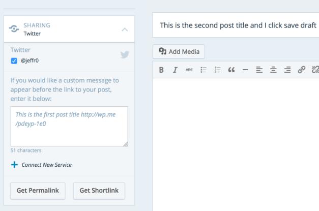 WordPress.com Bug in Action
