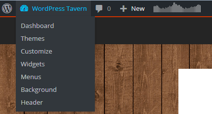 WordPress 4.2 Admin Bar