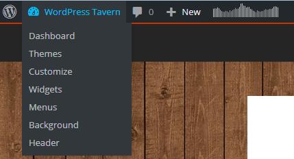 WordPress 4.2 Admin Bar