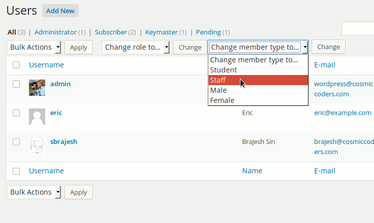 how to change code for individual page wordpress