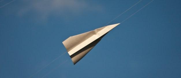 photo credit: Paper Plane - (license)