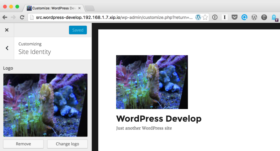 WordPress 4.5 to Introduce Native Support for a Theme Logo