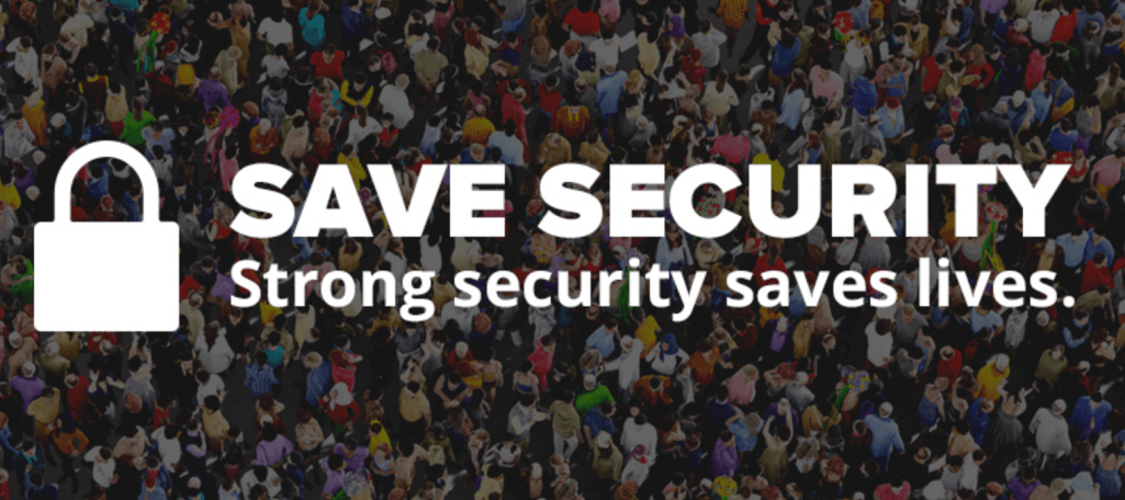 "Fight for the Future Launches ""Save Security"" Campaign in Support of Apple"