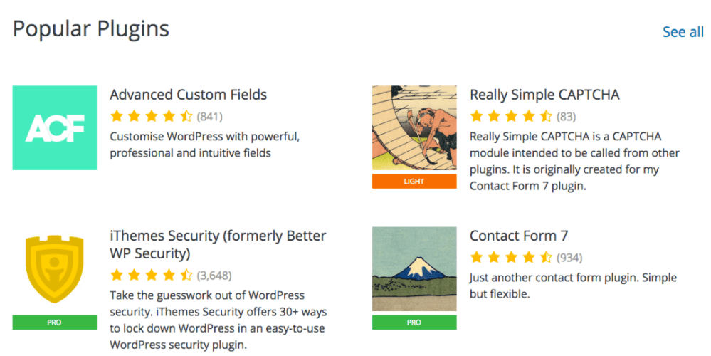 WordPress Plugin Directory Redesign Prototype Featured Image