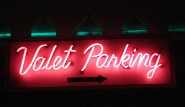 photo credit: Valet Parking, Las Vegas, NV - (license)