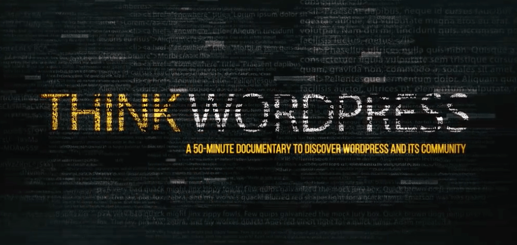 ThinkWP Releases First Trailer of Upcoming 50-Minute Documentary on the French WordPress Community