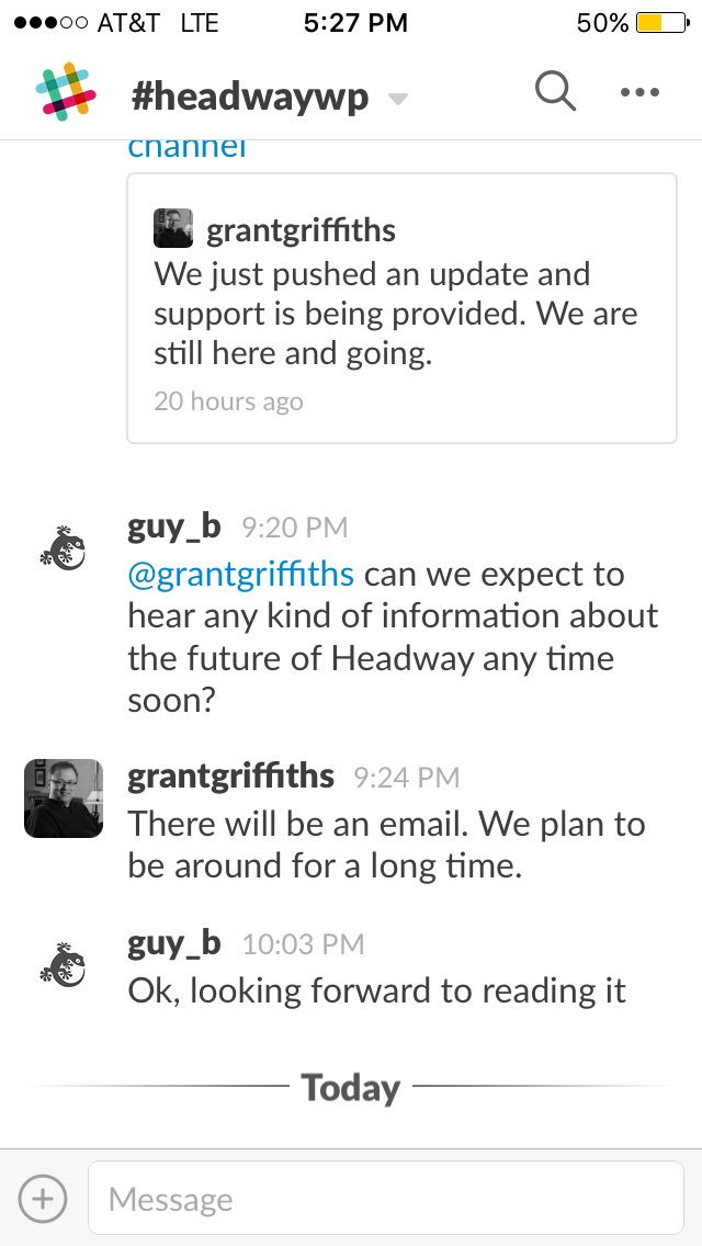 Grant Saying an Email Will Be Sent That Explains Things