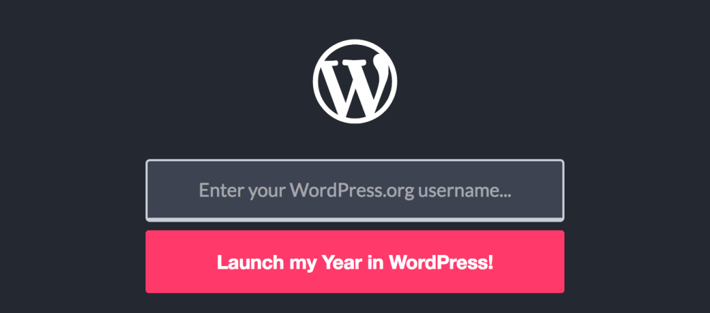 Year in WP Creates a Personalized Review of WordPress Contributions in 2016