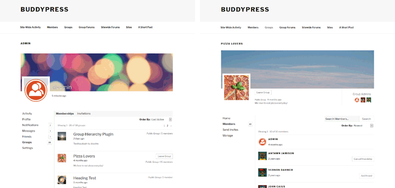 BuddyPress 2.8 Boosts Minimum PHP Requirement, Adds Twenty Seventeen Companion Stylesheet